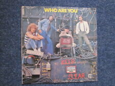 THE WHO -  LP COVER - WHO ARE YOU (Ideal for framing)
