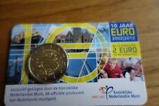 2 euro 10 jaar Euro 2002 tot 2012 in coincard