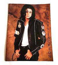 MICHAEL JACKSON Dangerous World Tour 1992 JAPAN CONCERT PROGRAM BOOK