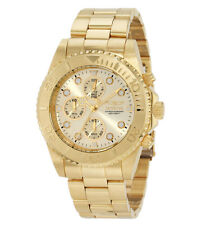Invicta Men's Gold Tone Quartz Chronpgraph Watch 1774