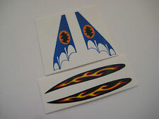 Corgi 1003 Batman Custom Batboat Stickers   - B2G1F