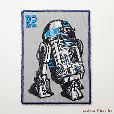 STAR WARS - Awesome R2D2 Embroidered Droid Patch...