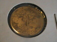 GAMESTOWN GAME TOKEN PITTSBURGH PA 25 CENTS PLAY  VALUE