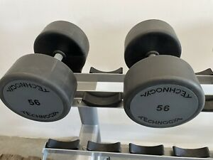 Technogym Kurzhanteln 2x 56 Kilo  Hanteln Fitness!