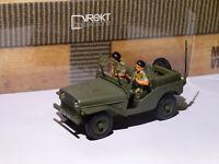 Delahaye VLRD jeep - armée française au 1/43 Direkt Collections