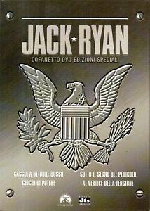 JACK RYAN - COFANETTO 4 DVD EDIZIONI SPECIALI - 2003 PARAMOUNT PICTURES