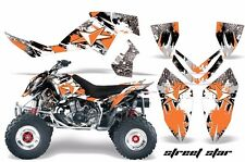 AMR Racing Decal Sticker Quad Graphic Sticker Kit Polaris Outlaw 500/525 STREET