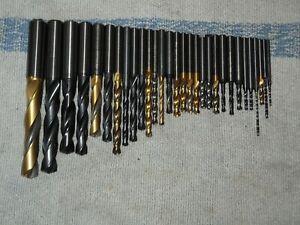 VHM Bohrer 30 Stück D 1,6-12,5mm