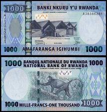 RWANDA 1000 FRANCS (P35) 2008 UNC