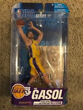 MCFARLANE NBA 17 PAU GASOL Pau Gasol Lakers Yellow Jersey Short Print Figure