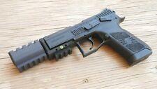 Airsoft3D J.W. Airsoft Compensator V1 (14mm Self-Cutting) Black (HP+) John Wick
