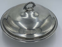 International Silver Covered Silverplate Serving Bowl With Lid