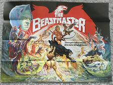 The Beastmaster Original Movie Poster (1982)