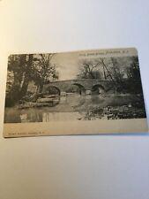 Old Postcard 1900's Princeton New Jersey Stoney Brook Bridge