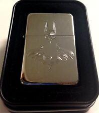 Batman 2 Comic New Engraved Chrome Cigarette Lighter Wedding Favor Gift LEN-0051