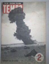 WW2 *TEMPO-RIVISTA D'EPOCA FASCISTA DEL 1942*FANTERIA ALL'ATTACCO*N.151
