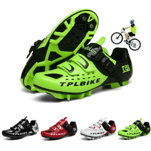 Professional Cycling Shoes Men Mountain Bike Bicycle Sneakers SPD Cleats Peloton