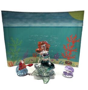 Swarovski Disney Little Mermaid Crystal Display