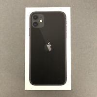 iPhone 11 EU Box in Perfect Condition / Black / Noir / Boite EU en Parfait état