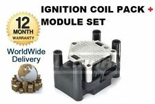 FOR AUDI A1 A2 A3 A4 1994-2008 1.2 1.4 1.6 IGNITION COIL + MODULE PACK 032905106