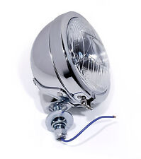 Driving Lights Chrome Custom Headlights Spotlight For Harley Heritage Motorcycle