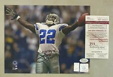 Emmitt Smith Signed 8x10 Photo Autographed JSA WITNESSED COA Cowboys HOF