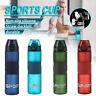 700ML Plastic Water Drinking Bottle Leak-Proof Usable Sports Running Gym School