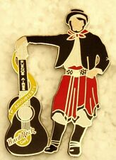 HARD ROCK CAFE BUENOS AIRES 1st ANNIVERSARY GAUCHO with GUITAR PIN