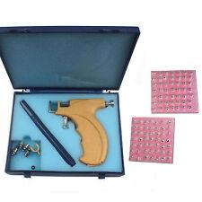 Ear Piercing Gun Pierce Fits Three Sizes 3mm 4mm 5mm Studs & 98 pairs Studs