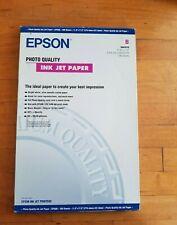 "Epson Photo Quality Ink Jet Paper Model S041070 11' X 17"" 100 Sheets"