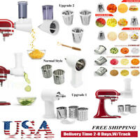 For KitchenAid Stand Mixer Fresh Prep Slicer Shredder Food Pusher Attachment USA