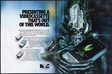 ALIEN (1979)__Original 1981 Print AD / MVC promo ADVERTISEMENT__R. M. Laslo art