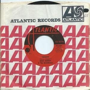 Don Covay:Seesaw/I never get enough of your love:US Atlantic:Northern Soul