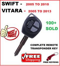Suzuki Swift  remote key Grand Vitara Remote Control Complete Key Blank 2005 +