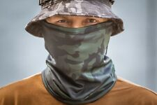 New Neck Gaiter Scarf Face Mask Balaclava in Black Multicam