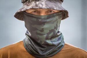 New Neck Gaiter Scarf Face Mask Balaclava in Black Multicam