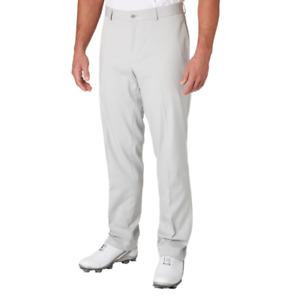 Slazenger Golf Pants Mens 40 x 30 New Course Ready Core Moisture Wicking Grey