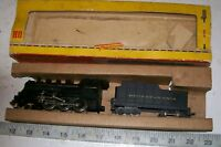 RARE FLEISCHMANN HO 1355 1350 24001 Metal Train Mogul Locomotive & Tender PENN