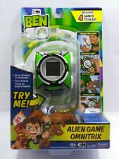Ben 10, Alien Game Omnitrix Watch, 4 Games to Play, New
