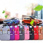 Auto Black Car Seat Back Multi-Pocket Storage Bag Organizer Holder Accessories