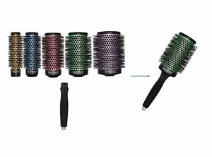 Olivia Garden Ceramic Ion 6pc Multi Thermal Brushes Deal: 5 Barrels & 1 Handle
