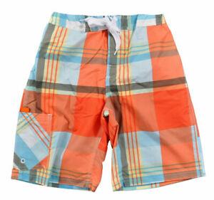 Carter's Big Boys Orange & Blue Swim Shorts Size 14/16 $20