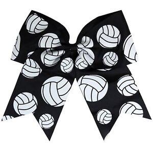 Softball Bows Cheer Bow Baseball Football Volleyball Dance Cheap Hair Bows USA