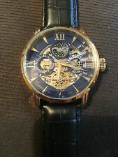 INVICTA NEW AUTOMATIC OBLECT D'ART ROSE GOLD BOX/PAPERS