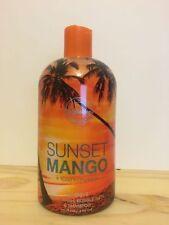 Full Body Wash for Women Human 3-n-1 Foaming Shampoo Bubble Bath Sunset Mango