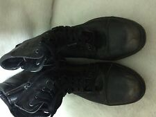 Diesel Leather Boots Basket Butch Zippy men's Back/rustic Brown.size 11Usa