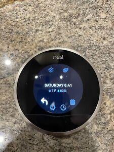 Google Nest 2nd Generation Thermostat, Silver