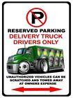 International Durastar Delivery Truck Heineken No Parking Sign NEW