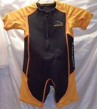 Stingray Aqua Sphere Orange/Black Youth Size 6 Wetsuit Shorty