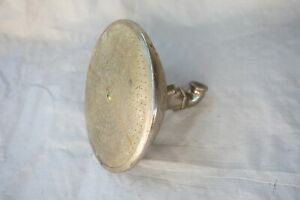 "Antique Large Shower Head Pat Aug 17, 9 (S5R) 1909 Marked B 8"" Plated Brass"